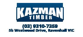 Karri Fence Posts - Kazman Timber